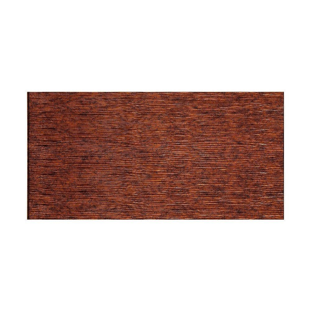 Fasade waves horizontal moonstone copper foot x foot wall panel