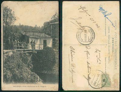 Melgaço, entre o Minho e a Serra: Antiga Ponte Internacional de S. Gregório em posta...