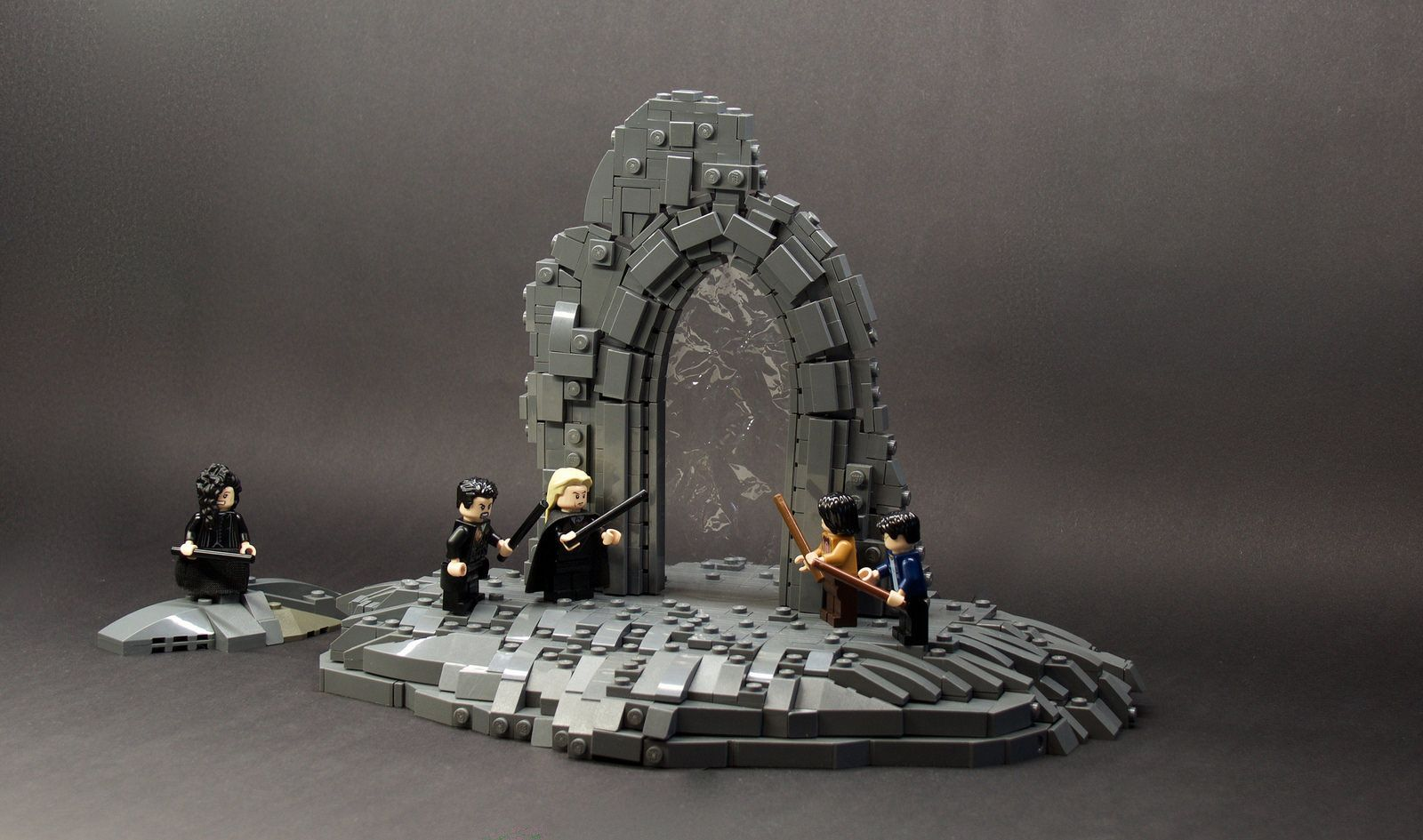 Harry Potter Department Of Mysteries Lego Harry Potter Moc Lego Harry Potter Lego