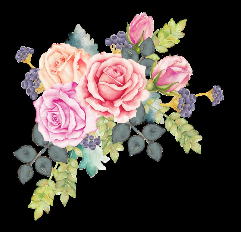Tumblr Transparent Flowers Corner