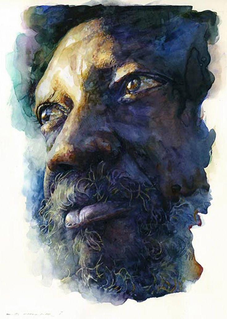 African American Watercolor Paintings