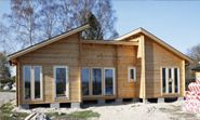 This Swedish company makes some adorable little houses (site's in Swedish, btw) Fritidshus