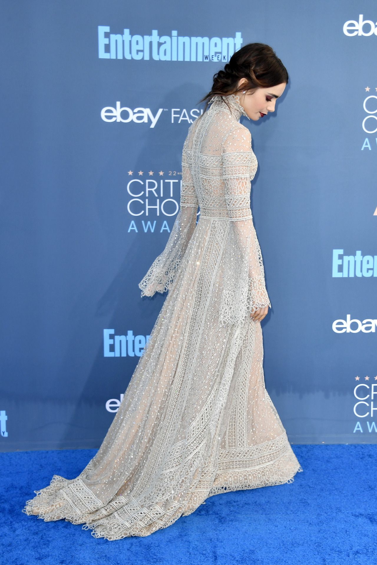 Lily Collins - 22nd Annual Critics\' Choice Awards in Santa Monica 12 ...