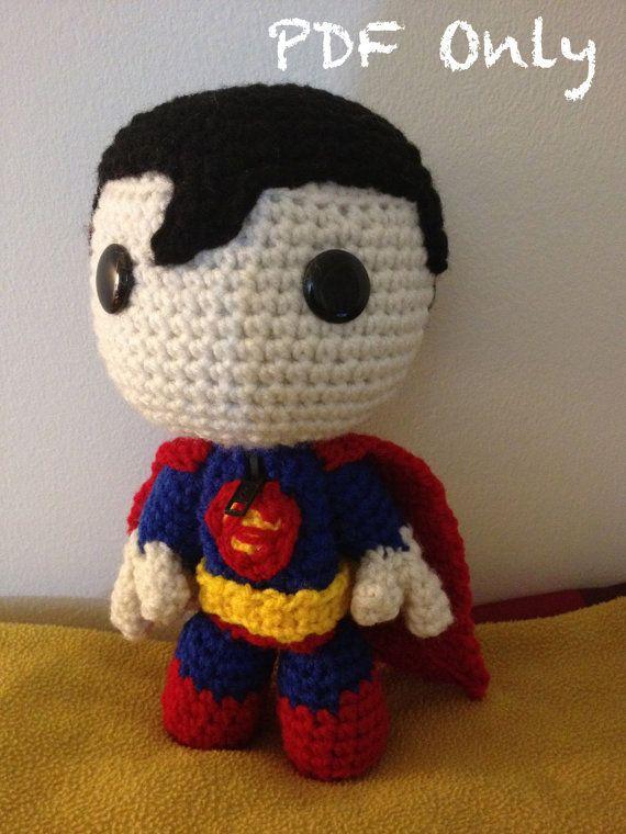 Superman Sackboy PATTERN | Amigurumi | Pinterest | Patterns ...