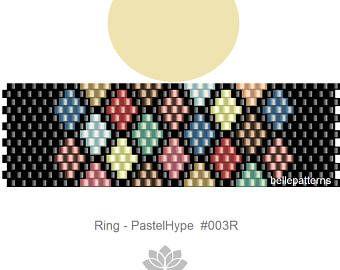 peyote ring patternPDF-Download 251R beading pattern