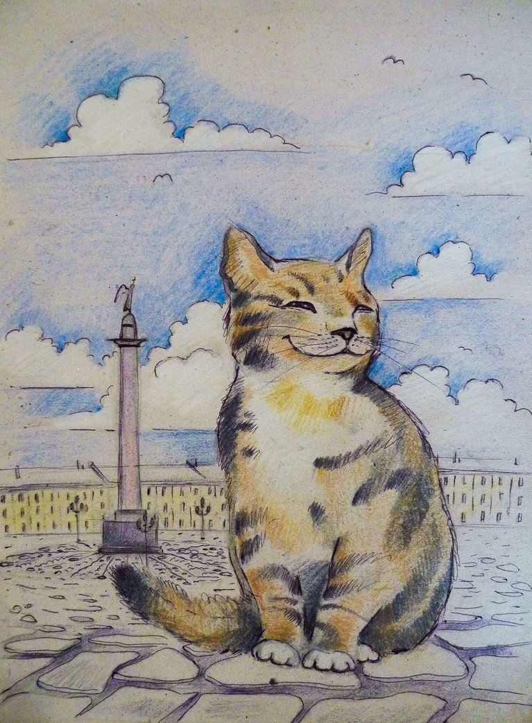 кошки для эрмитажа картинки этом