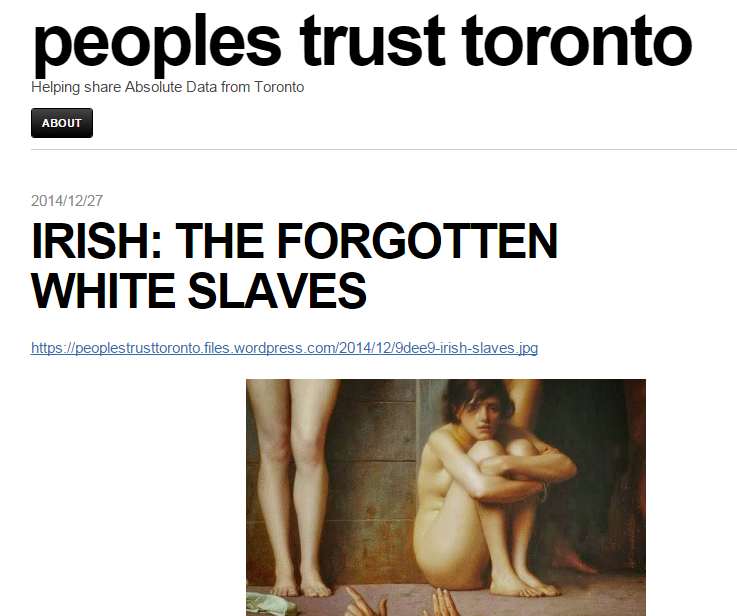 """Debunking the imagery of the """"Irish slaves"""" meme (With"""