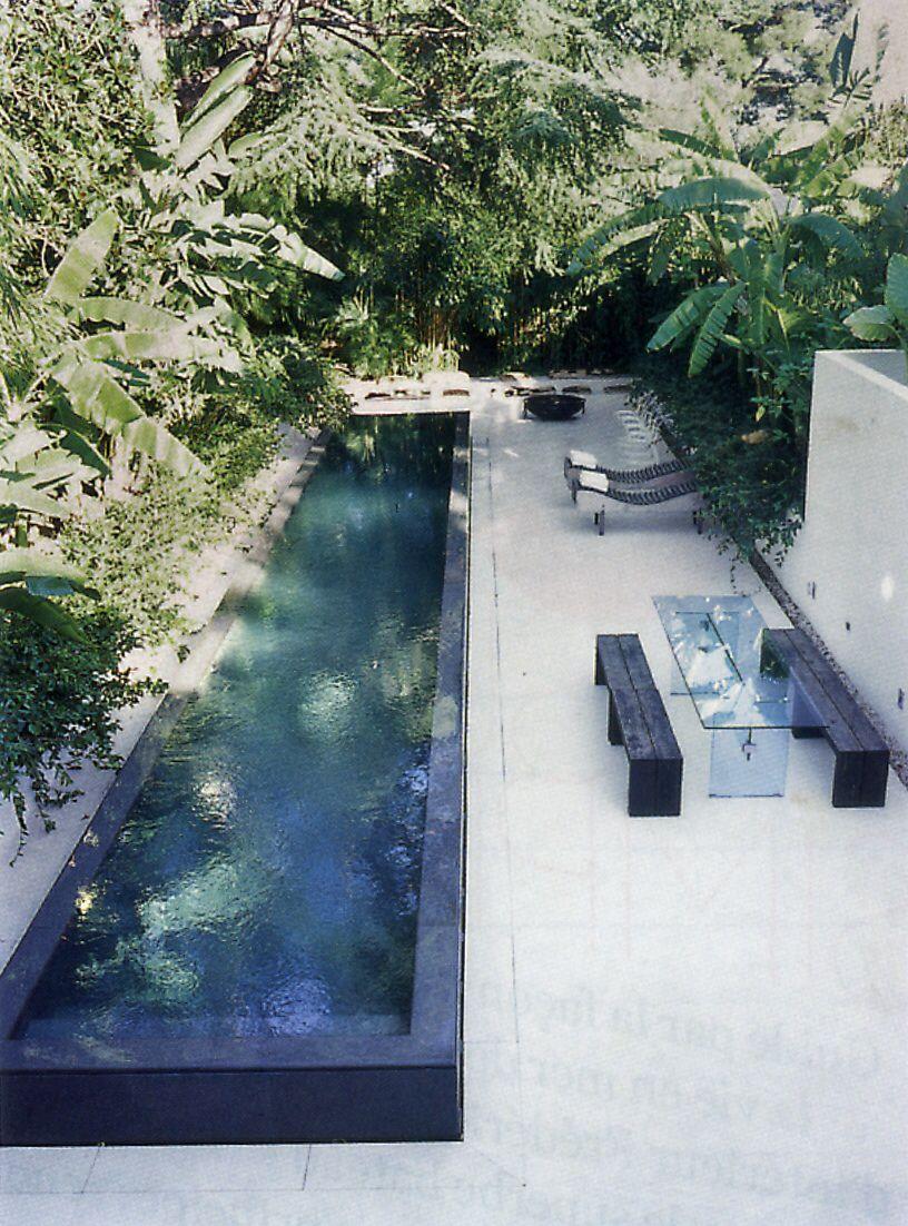 On Dirait Le Sud Raised Pools Backyard Pool Small Pool Design