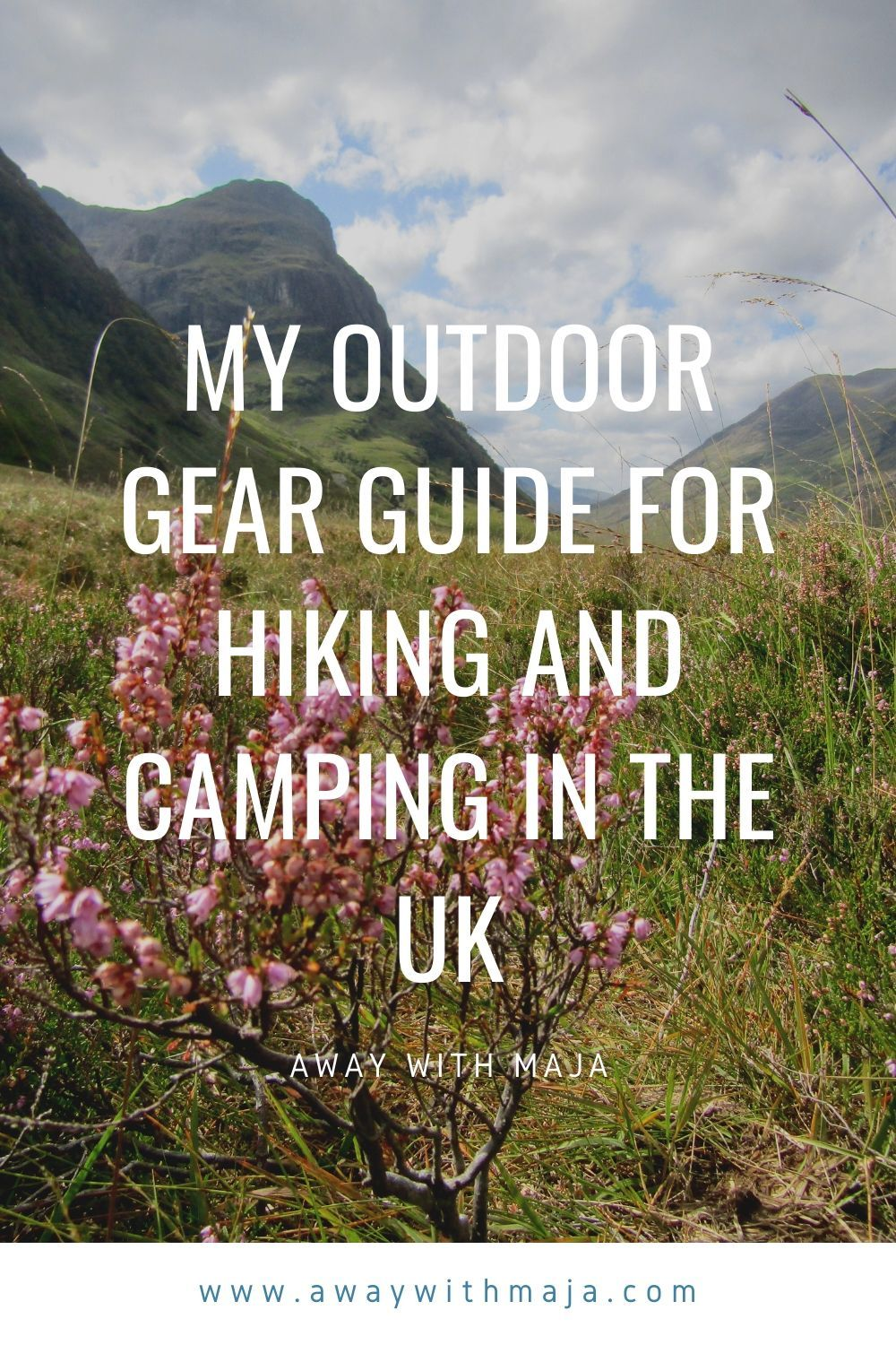 Photo of My Outdoor Gear Guide For Hiking And Camping In The UK