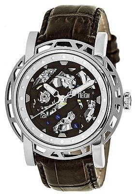 Other Wholesale Wristwatches 40133: Reign Mens Stavros Automatic Skeleton Dial Crocodile-Embossed Leather: Reirn3701 -> BUY IT NOW ONLY: $480 on eBay!
