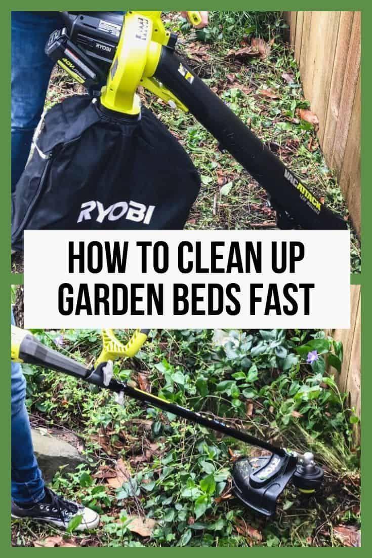 Backyard Makeover Week 2 - Garden Clean Up