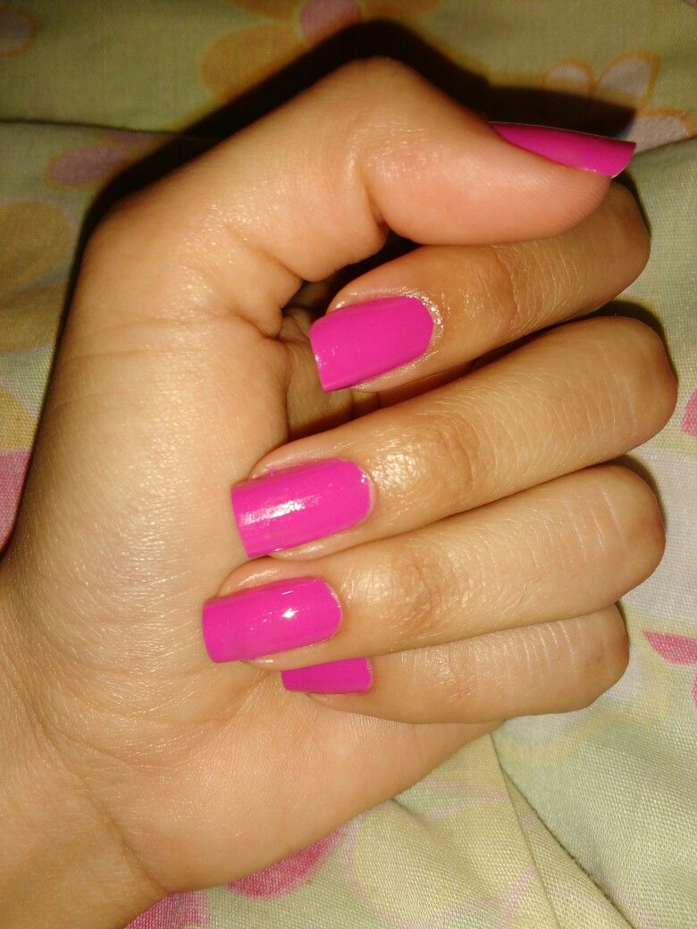 #nails #art #pink (With images) | Pink acrylic nails, Pink