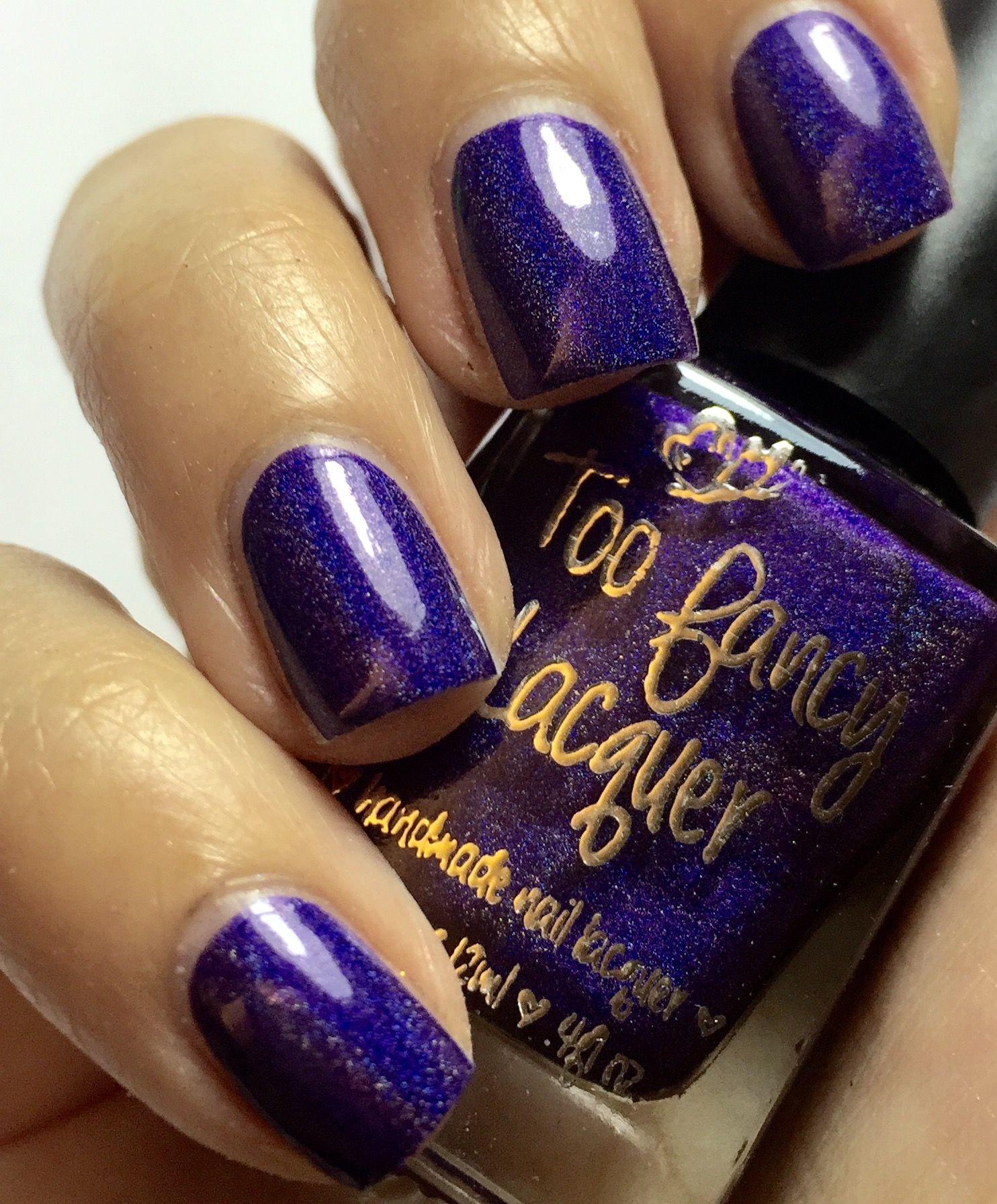 The Glow Within - violet holo with a blurple glow