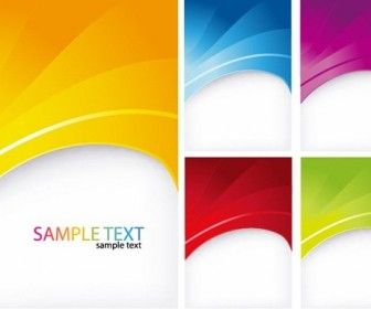 5 Colorful Abstract Backgrounds Free Vector Art With Images
