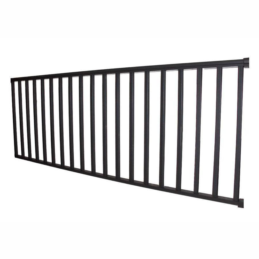 Best Wolf Handrail Assembled 6 Ft X 3 Ft Deep Bronze 640 x 480