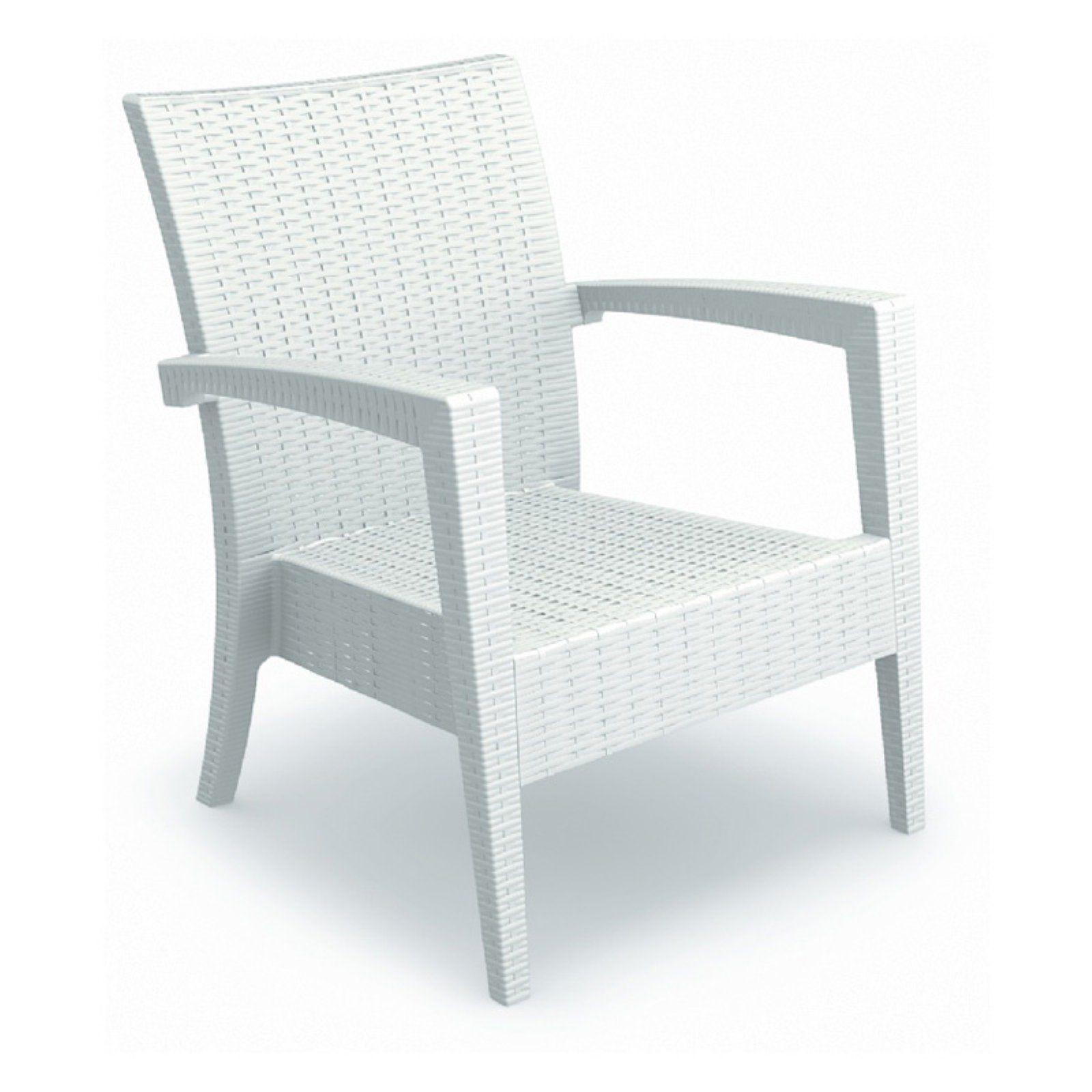 Outdoor Siesta ISP850 Miami Resin Club Chair - Set of 2 #resinpatiofurniture