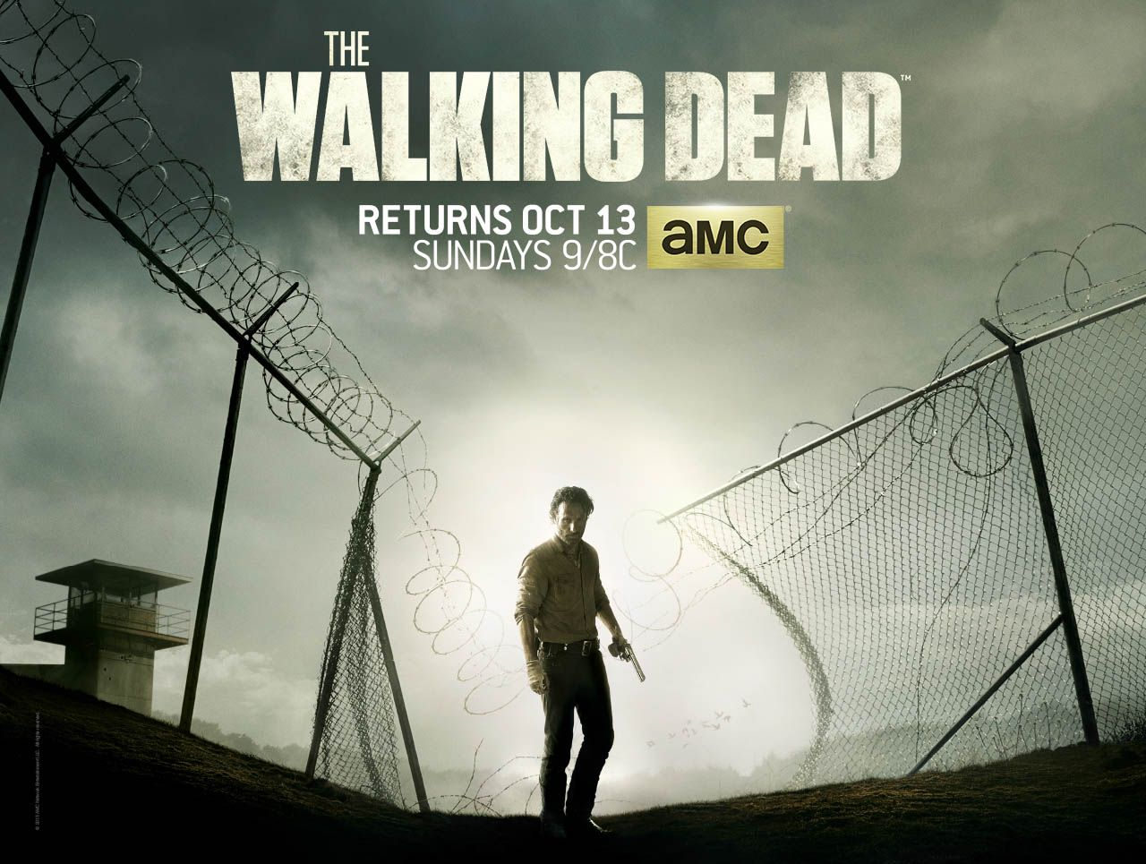 Final season of The Walking Dead promises big surprises : The series produced by Fox present the final chapter of her fourth season. The series has become