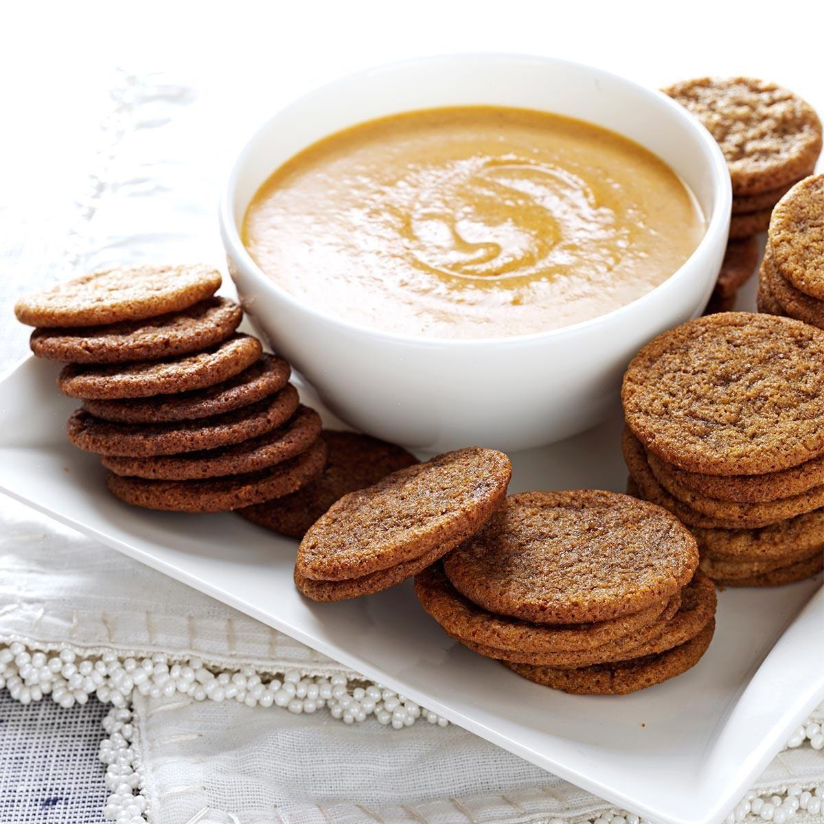 Spice Cookies with Pumpkin Dip #pumpkindip