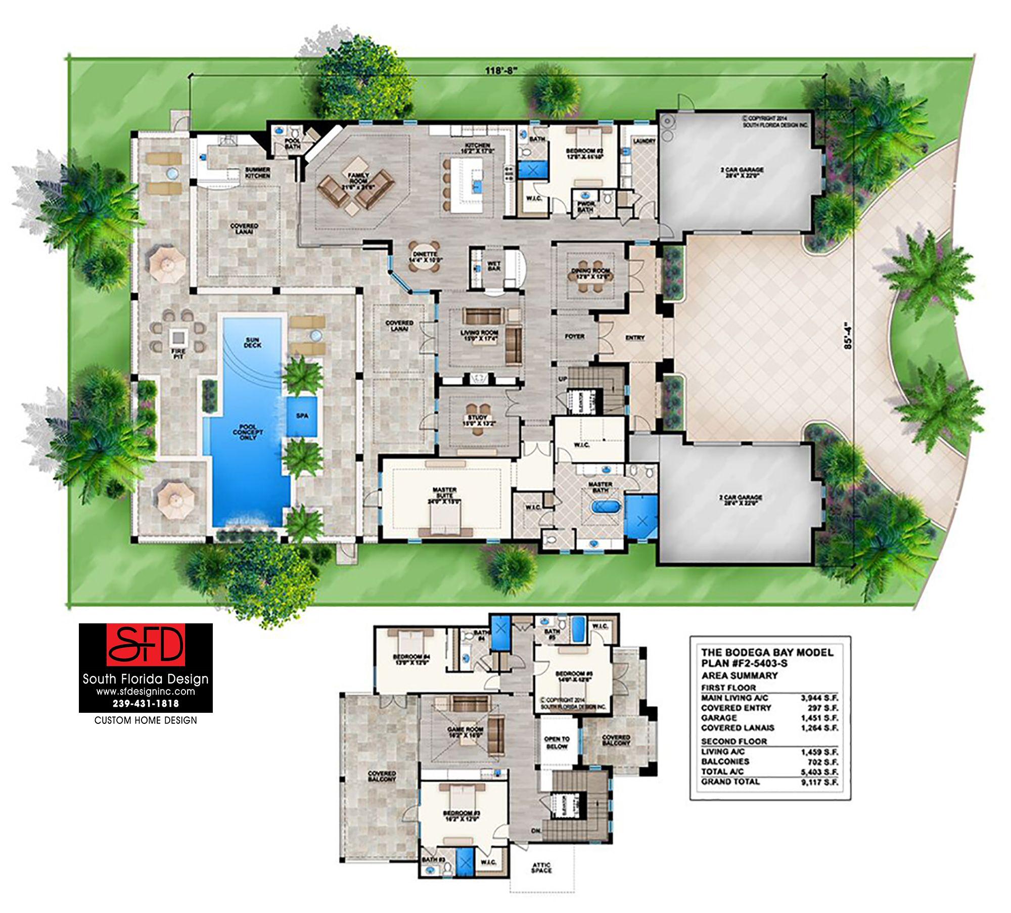 2 Story Coastal Contemporary House Plan 239 431 1818 Florida House Plans Coastal House Plans Beach House Floor Plans