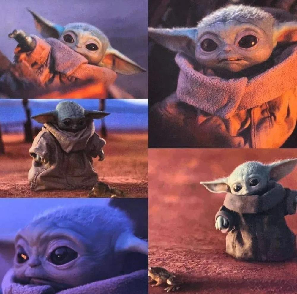 17 Beautiful Baby Yoda Wallpapers Animaux kawaii, Kawaii