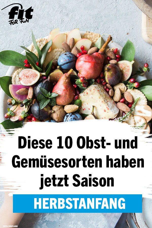 Herbstanfang: 10 Obst- und Gemüsesorten, die jetzt Saison haben - FIT FOR FUN