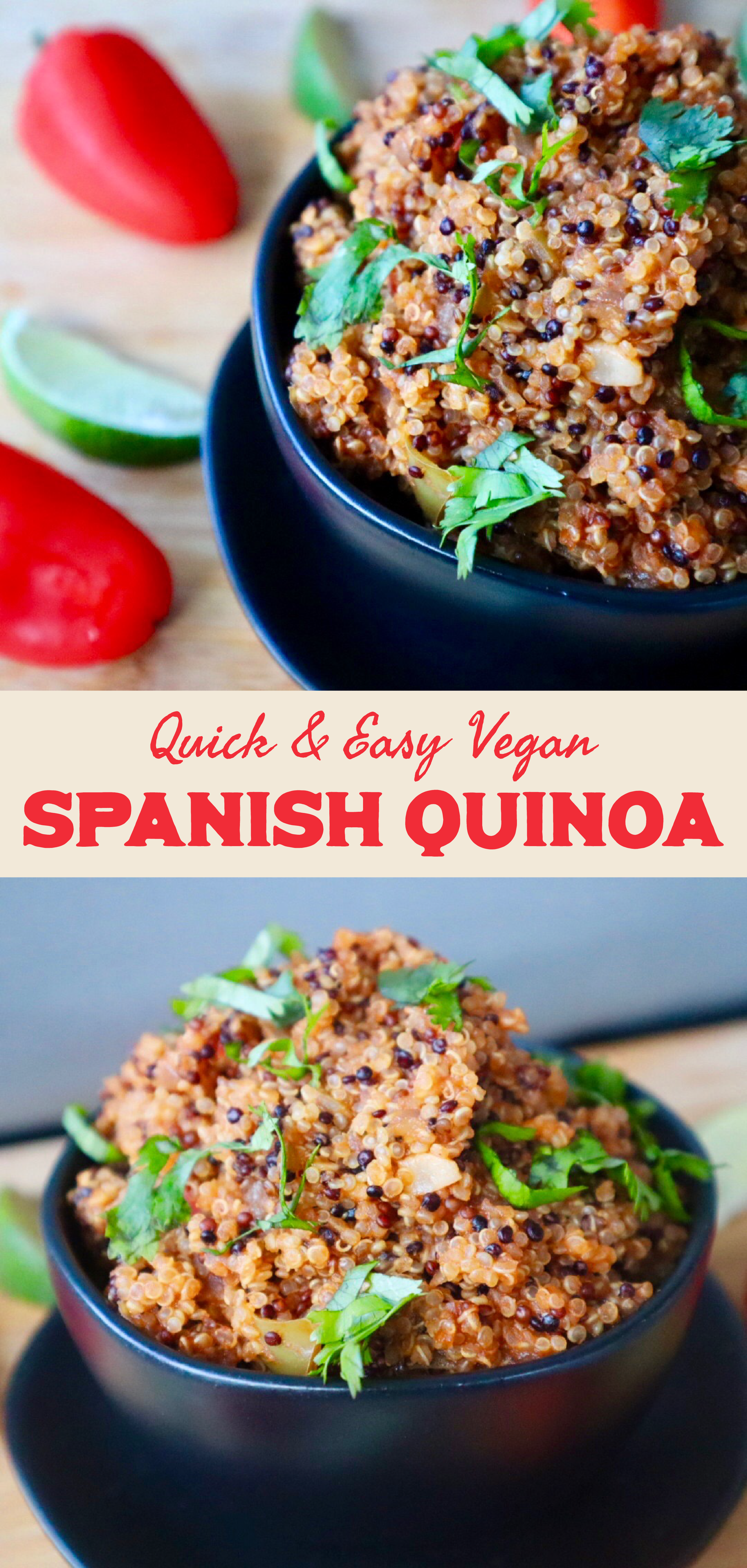 Spanish Quinoa New Vegan Heart Recipes Vegan Recipes