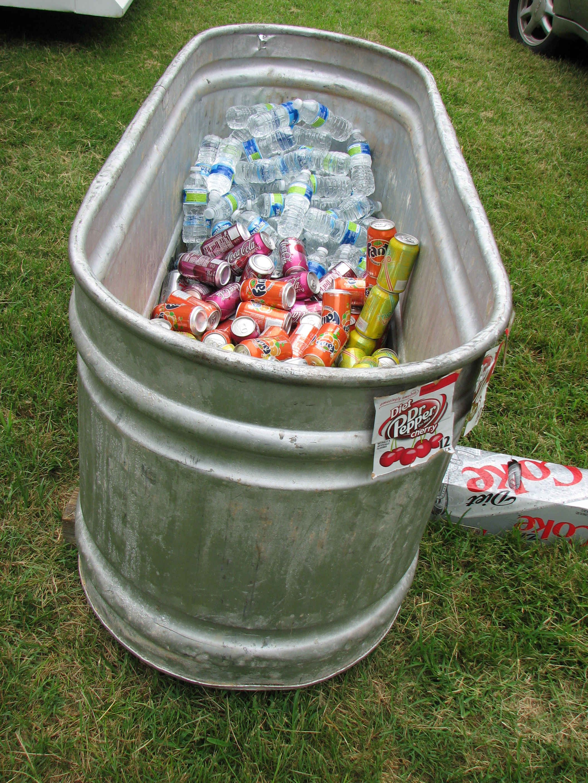 Large Galvanized Tubs Livestock Drink Trough Galvanized Tub