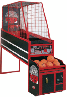 Hoop Fever Coin Operated Or Free Play Basketball Arcade Game By Innovative Concepts In Entertainment I Basketball Arcade Games Arcade Games Arcade Basketball