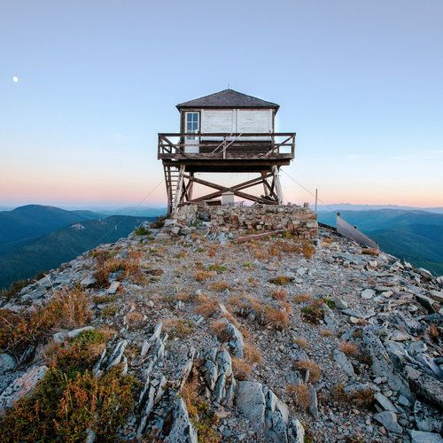 Fire Lookouts Lookout Tower Outdoors Adventure Watch Tower