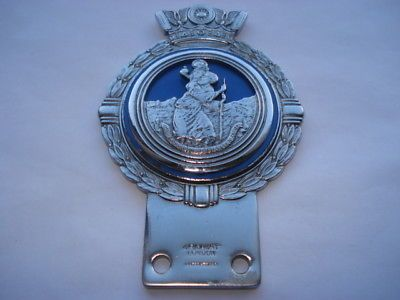 Vintage St Christopher Car Badge Car Badges