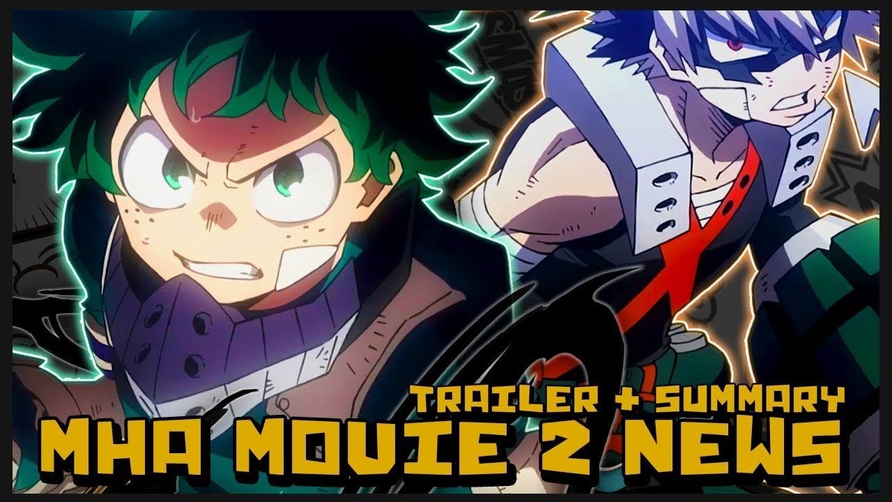 My Hero Academia The Movie 2 Heroes Rising Trailer React Plot
