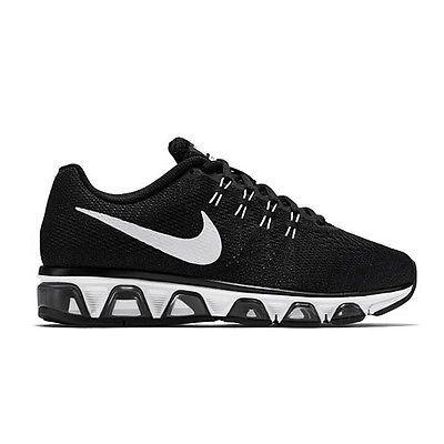 new concept 3811d a3db2 Nike Air Max Tailwind 8 Womens 805942-001 Black White Mesh Running Shoes Sz  6.5
