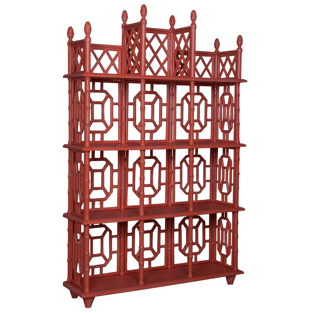 Painted Fretwork Display Shelf Display Shelves Chinoiserie Furniture Shabby Chic Shelves