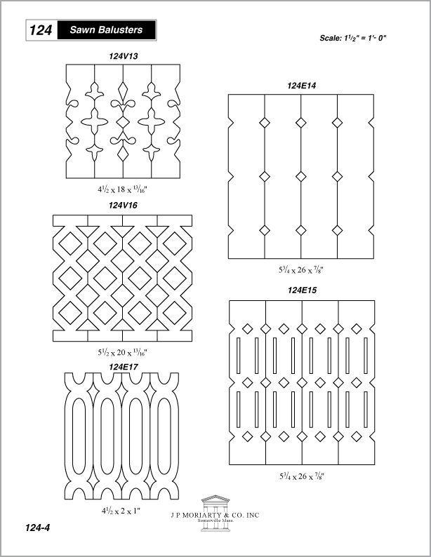 Sawn Balusters Porch Railings