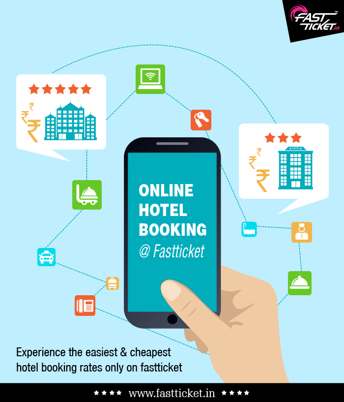 Dwell in the Hotel of your choice that gives range of economical or budget-friendly to the luxurious one: http://fastticket.in/travel/hotel-booking #Hotel #Booking #Lodging #Fastticket #Trip #Weekend
