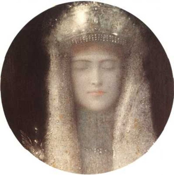 Khnopff.... symbolical painter....one of my faves!