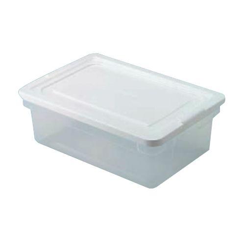 Rubbermaid Roughtote Clear Storage Box Sku Rhp3q24cle Rubbermaid