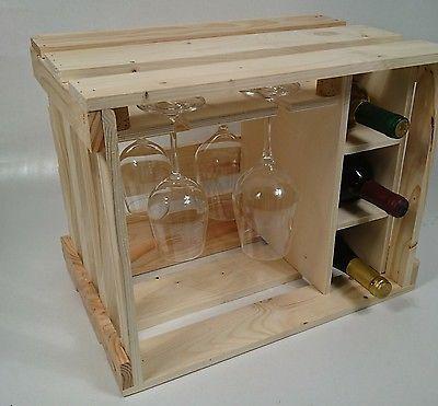 Gläserschrank details zu weinkiste hausbar weinregal gläserschrank weingläser