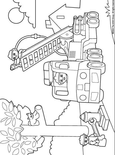 Coloring Page Lego Duplo Lego Duplo Ausmalbilder Basteln Ausmalbilder Lustige Malvorlagen