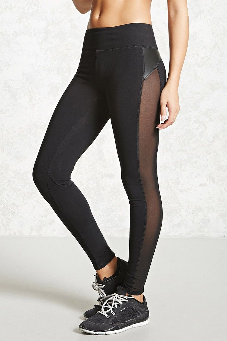 f9312865104d70 Product Name:Active Mesh Panel Leggings, Category:Activewear, Price:15.9
