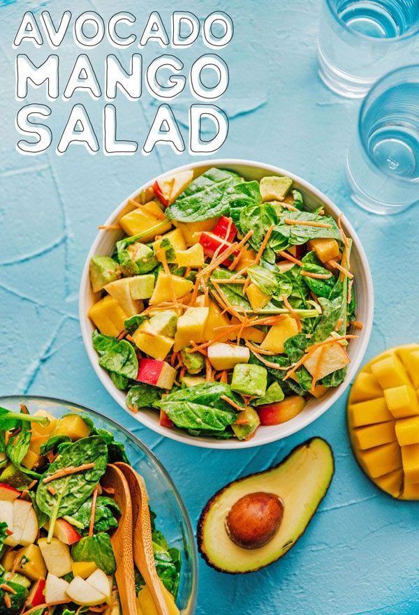 Avocado Mango Fruit Salad images