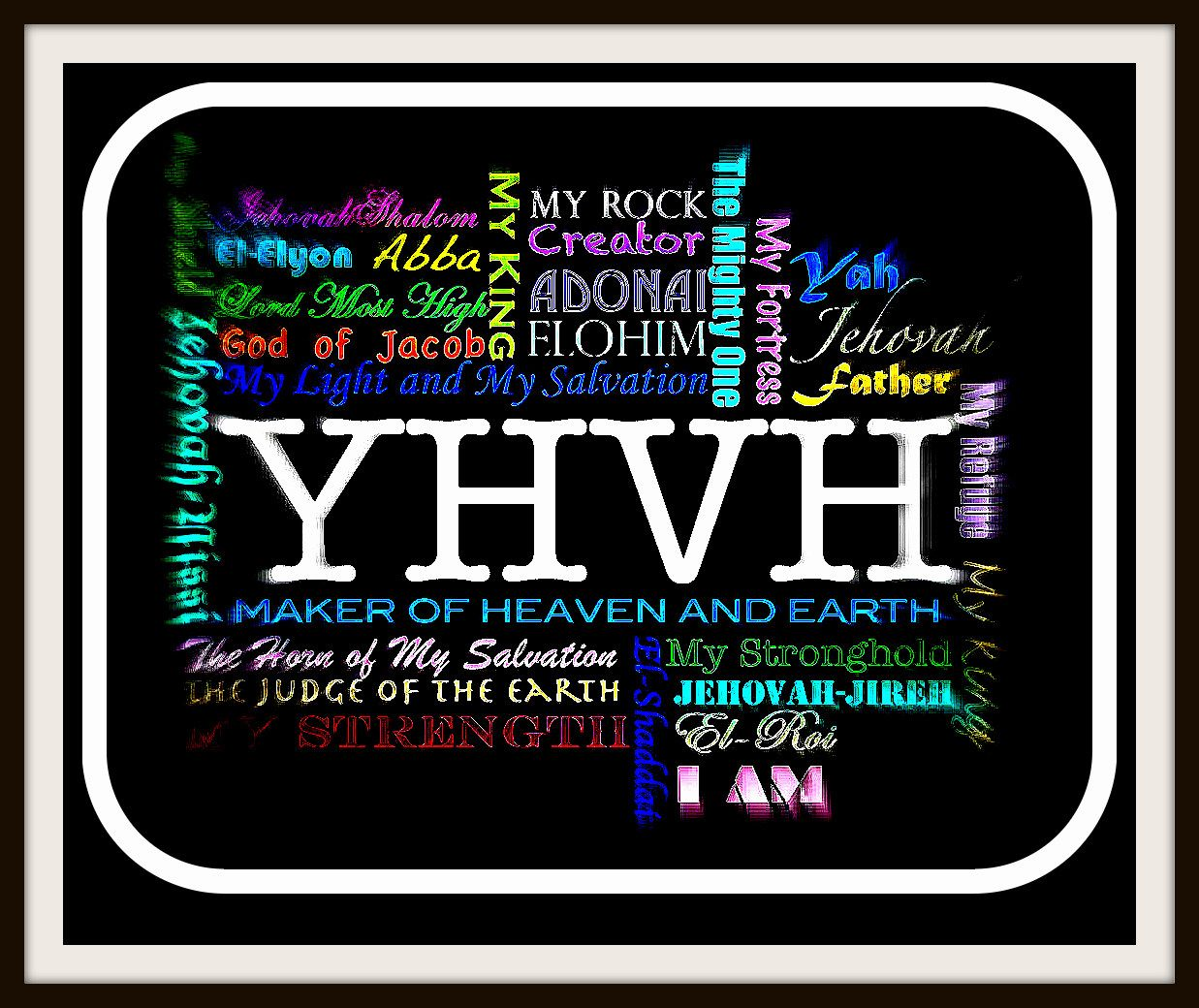 all the names of jehovah in jesus u0027 name is all power and all