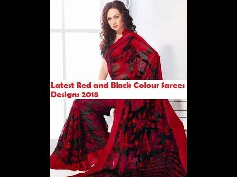 Saree dress style 2018