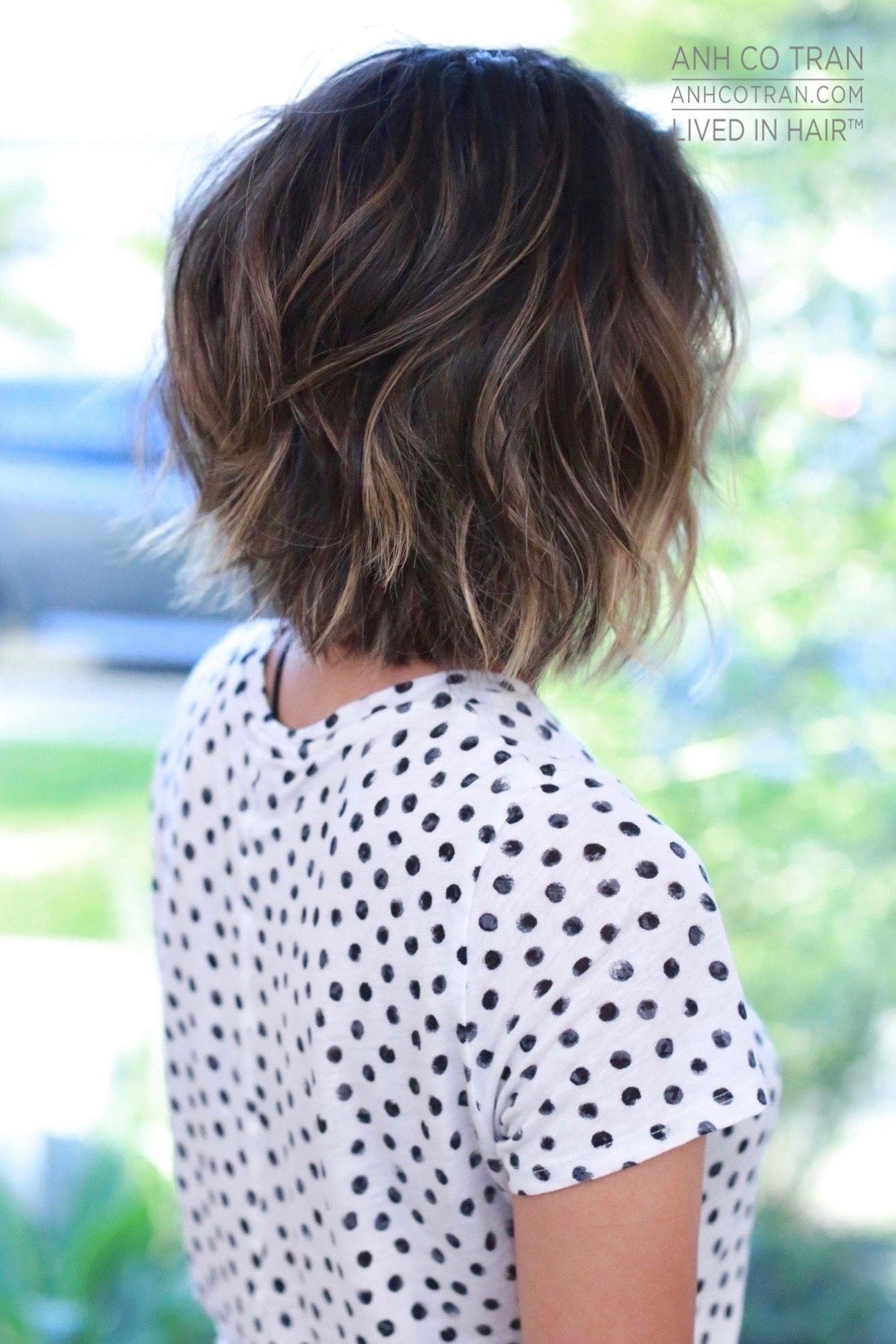 Anh Co Tran Beauty Haircut Ideas Pinterest Hair Style