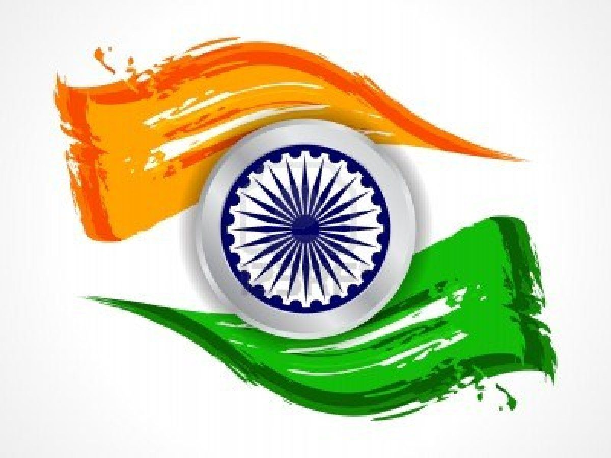 Flower With Indian Flag Hd: {New 15 Aug} India Independence Day HD Wallpapers & Images