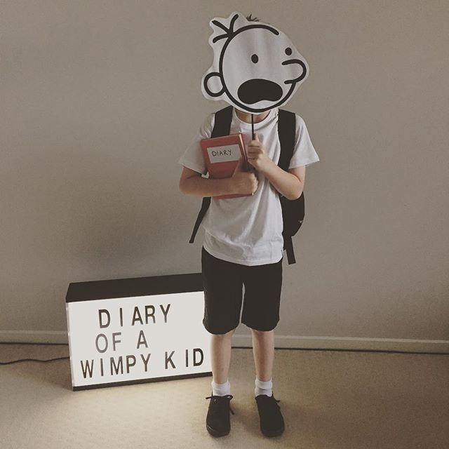 Diary of a wimpy kid bookweek playing dress up for Diary of a wimpy kid crafts