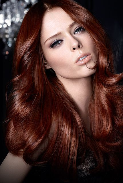 Canadian stunner Coco Rocha shines like a ruby red for L ...