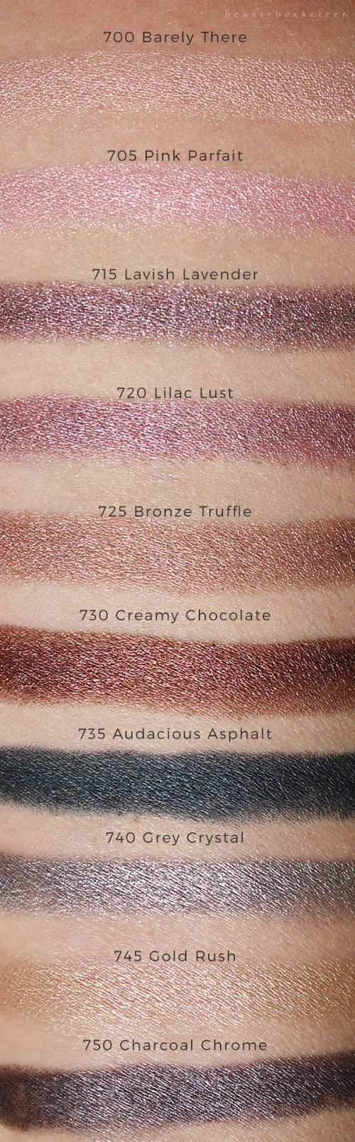 Maybelline Color Tattoo Crayons Swatches For Barely There Pink Parfait Lavish Lavende Maybelline Color Tattoo Maybelline Color Tattoo Crayon Maybelline Color