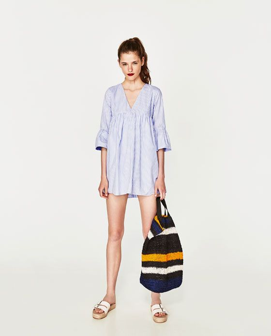 4e7d8b94 VESTIDO MONO VOLANTE MANGA | Clothes Before Hoes | Jumpsuit dress ...