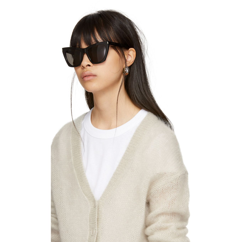 Saint Laurent Black SL 214 Kate Sunglasses Sunglasses